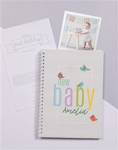 Picture of Personalised Little Birdie Baby Journal!