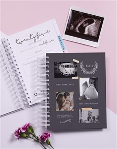 gifts: Personalised Then Comes Pregnancy Journal!