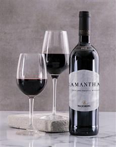 gifts: Personalised Classic Backsberg Wine!