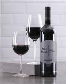 gifts: Personalised Modernist Backsberg Wine!