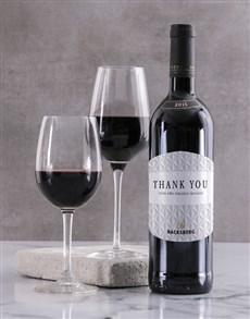 gifts: Personalised Sophisticate Backsberg Wine!