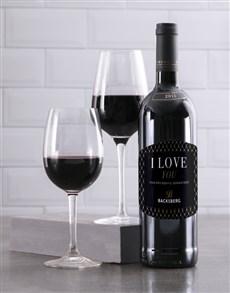 gifts: Personalised Gentleman Backsberg Wine!