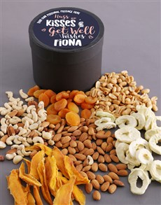 gifts: Personalised Hugs Fruit and Nut Hat Box!