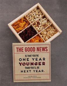 gifts: Personalised Good News Snack Crate!
