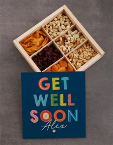 gifts: Personalised Get Well Snack Crate!