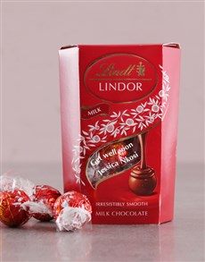 gifts: Personalised Get Well Lindt Box!