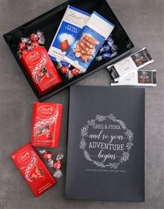 gifts: Personalised Adventure Begins Lindt Box!