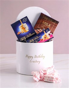 gifts: Personalised Happy Birthday Nougat Box!