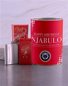 gifts: Personalised Johnnie Walker Red Bro Bucket!
