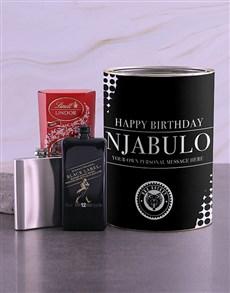 gifts: Personalised Johnnie Walker Black Bro Bucket!
