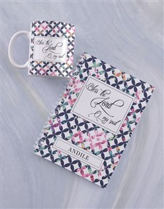 gifts: Personalised Bless the Lord Mug And Notebook!