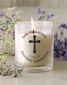 gifts: Holy Communion Candle!