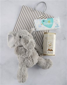 gifts: New Baby Nougat and Elephant Gift Bag!