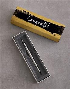 gifts: Congrats Gold Parker Pen Gift Set!