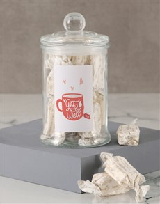 gifts: Get Well Soon Hearts Nougat Candy Jar!