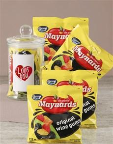 gifts: Love You Maynards Candy Jar!