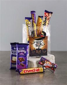 gifts: Halloween Chocolate Treat Bag!
