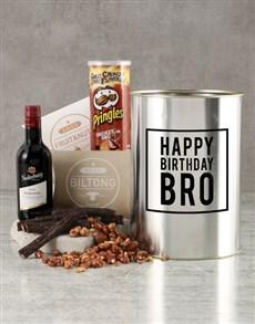 gifts: Happy Birthday Bro Bucket!
