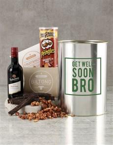 gifts: Get Well Soon Bro Bucket!
