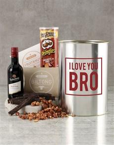 gifts: Love You Bro Bucket!