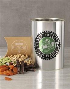 gifts: Biltong and Nuts Bro Bucket!