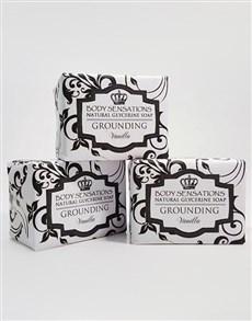 gifts: Blissful Vanilla Soap Bar Set!