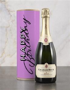 gifts: Happy Birthday Pink Bubbly Tube!