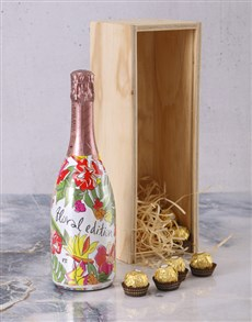 gifts: Valdo Floral Prosecco Crate!