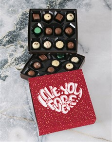 gifts: Love You Forever Double Choc Tray!