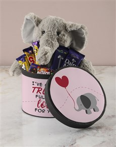 gifts: Trunk Full of Love Chocolate Hatbox Hamper!