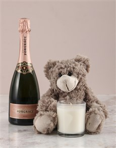 gifts: Brown Teddy And Pongracz!