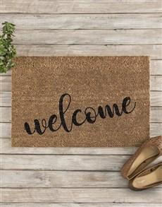 gifts: Welcome Doormat!