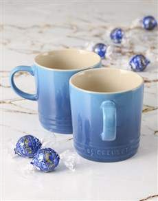 gifts: Marseille Le Creuset Mugs and Chocolate!