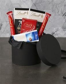 gifts: Lavish Lindt Hat Box!