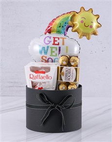 gifts: Get Well Soon Assortment Chocolate Box!
