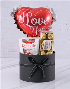 gifts: I Love You Chocolate And Balloon !