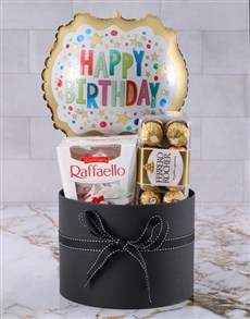 gifts: Happy Birthday Balloon And Choccies Gift!