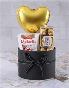 gifts: Happy Anniversary Chocolates And Balloon!
