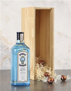 gifts: Bombay Sapphire Gin Hamper!