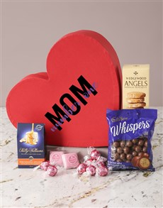 gifts: Sweet Treat Mothers Day Heart Hamper!