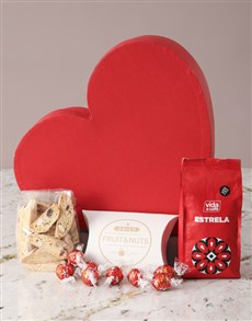 gifts: Mothers Day Goodies Heart Hamper!