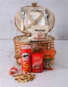 gifts: Moreish Munchies Picnic Basket Hamper!
