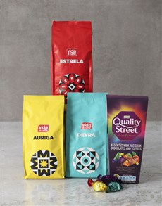 gifts: Coffee And Chocolate Lovers Hamper !
