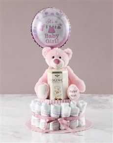 gifts: Pink Teddy Bear And Nougat Gift!
