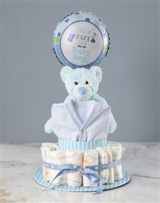 gifts: Blue Baby Shower Gift Hamper!