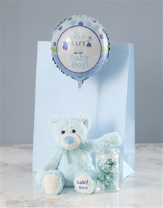 gifts: Blue Teddy and Coconut Treat Baby Gift!