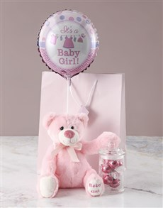 gifts: Pink Teddy Bath Time And Chocolate Gift!