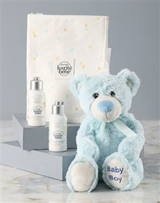 gifts: LOccitane Baby Boy Plush Teddy Bear Gift !