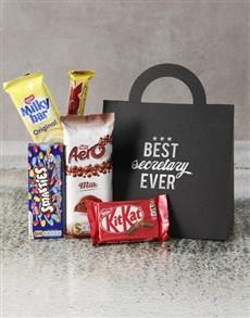 gifts: Best Secretary Ever Choc Handbag!