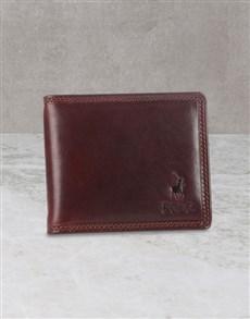 gifts: Polo Nappa Tab Wallet Gift Set!